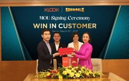Sun World và nền tảng đặt dịch vụ trực tuyến Klook bắt tay hợp tác chiến lược