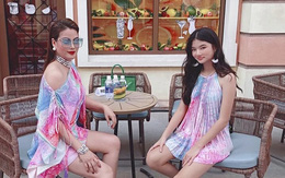 Con gái Trương Ngọc Ánh sành điệu bên mẹ ở Phú Quốc