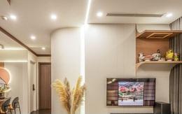 Căn hộ 120 m2 với những đường cong mềm mại tại Hà Nội