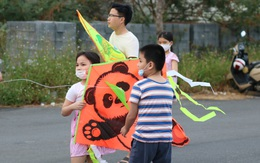 Tuổi thơ của trẻ em Sài Gòn với cánh đồng diều lộng gió