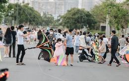 TP.HCM: Nhiều người đi đường liên tục bị dây diều cứa vào cổ, bị thương