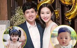 Chùm ảnh Hoa hậu Đặng Thu Thảo xinh đẹp, viên mãn tuổi 30 bên chồng và 2 con