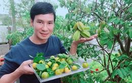 """Thăm trọn khu vườn như """"hệ sinh thái"""" trong biệt thự của Lý Hải - Minh Hà"""