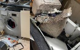 Từ vụ máy giặt phát nổ, những sai lầm trong sử dụng máy giặt cần hết sức lưu ý để tránh nguy cơ cháy nổ