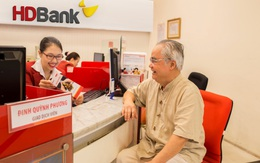 Tuổi càng cao ưu đãi càng lớn khi gửi tiết kiệm tại HDBank