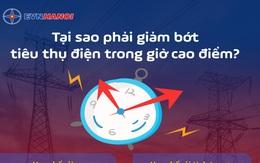 Vì sao phải hạn chế tiêu thụ điện năng vào giờ cao điểm