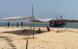 Tìm thấy thi thể ngư dân Quảng Bình mất tích trên biển