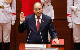 100% ĐBQH có mặt tán thành thông qua Nghị quyết bầu đồng chí Nguyễn Xuân Phúc làm Chủ tịch nước
