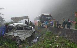 Danh tính hai quân nhân tử vong trong vụ ô tô đối đầu với xe khách trên QL6