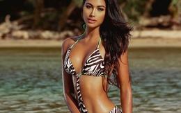 Nữ sinh 1m83, body nóng bỏng đăng quang Hoa hậu Hoàn vũ Puerto Rico