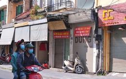 Hàng loạt cửa hàng treo biển cho thuê trên tuyến phố buôn bán sầm uất nhất Thủ đô