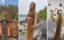 Nàng Rapunzel nước Nga 23 năm không cắt tóc