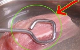 """Chuyên gia chỉ cách rửa thịt lợn đúng """"chuẩn"""", loại hết chất độc hại"""
