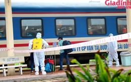 """Chuyến tàu """"yêu thương"""" đưa hàng trăm công dân Thừa Thiên Huế từ TP. HCM về quê"""