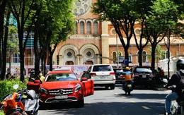 Hình ảnh đường phố TP HCM nhộn nhịp trở lại sau 4 tháng đóng cửa phòng chống dịch