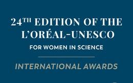 Giải thưởng Vì sự phát triển phụ nữ trong khoa học năm 2021