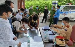 Thanh Hóa: Không kiểm tra giấy xét nghiệm tại các chốt kiểm soát
