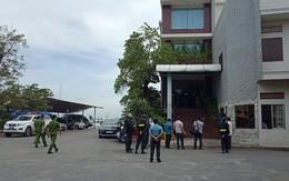 Hàng chục cảnh sát khám xét công ty xăng dầu lớn nhất Bà Rịa - Vũng Tàu