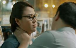 Mặt nạ gương tập 4: Hoa (Lương Thu Trang) bị kẻ ác bóp cổ, đe dọa giết người diệt khẩu