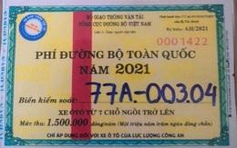3 lái xe của Cục Quản lý thị trường sử dụng vé thu phí đường bộ giả