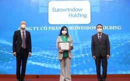 Eurowindow Holding lọt Top 100 Thương hiệu mạnh Việt Nam 2020-2021