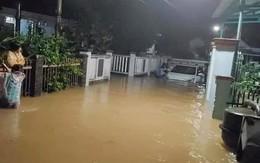 Lũ lụt miền Trung: Nhiều thủy điện và hồ Phú Ninh ở Quảng Nam xả lũ, nước sông đang lên nhanh