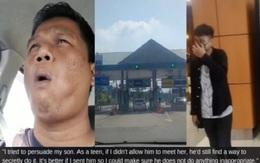 Ông bố lái xe 260km đưa con trai 18 tuổi đi hẹn hò lần đầu