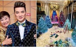 Hậu ly hôn, mới cuối tháng 10, Đàm Vĩnh Hưng đã trang trí Noel trong biệt thự 90 tỷ
