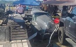 Xem đua xe, 2 trẻ em bị tông thiệt mạng