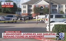 Sốc nặng khi phát hiện 3 đứa trẻ bị bỏ rơi cùng bộ xương người