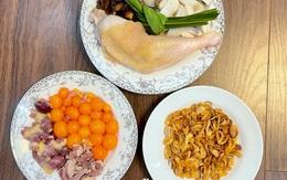 Món xôi gà nấm trứng non ai ăn cũng khen ngon, rất dễ làm, thắp hương thì đẹp thôi rồi, gái vụng đến mấy cũng thành đảm