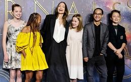 Các con Angelina Jolie nổi bật trên thảm đỏ ở London