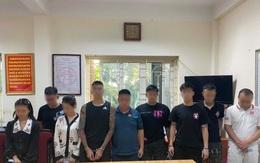 Tạm giữ nhóm nam nữ tụ tập tại chung cư cao cấp để sử dụng ma túy