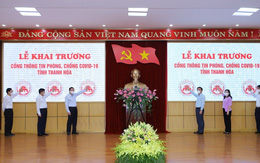 Khai trương Cổng thông tin phòng, chống COVID-19 tỉnh Thanh Hóa