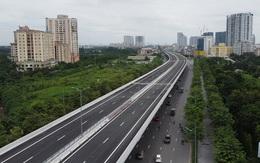 Đêm nay cấm phương tiện di chuyển vào đường trên cao đoạn Mai Dịch – cầu Thăng Long