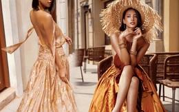 Hoa hậu Tiểu Vy gợi ý đầm chào hè hở bạo, khoe lưng trần, tôn làn da bánh mật