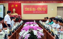 Thứ trưởng Bộ Y tế Đỗ Xuân Tuyên làm việc với tỉnh Bà Rịa - Vũng Tàu về công tác tổ chức và quản lý cách ly phòng, chống dịch COVID-19