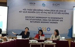 Phụ nữ di cư hồi hương đối mặt với nhiều rủi ro và tổn thương