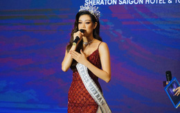 Hoa hậu Khánh Vân chính thức đại diện Việt Nam tham dự Miss Universe