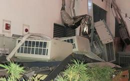 BQL lên tiếng vụ 7 cục nóng điều hòa rơi xuống sân chơi trẻ em tại chung cư An Bình Plaza - Hà Nội