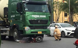 Hải Dương: Va chạm với xe bồn chở bê tông, người đàn ông tử vong