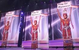 Đại diện Myanmar thắng giải Trang phục dân tộc nhưng lo ngại số phận chưa biết đi về đâu