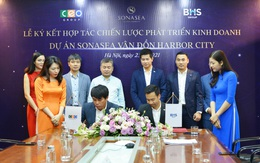 CEO Group hợp tác với BHS Group phát triển kinh doanh dự án Sonasea Vân Đồn Harbor City
