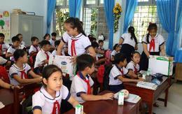 """4 năm sữa học đường đồng hành với học sinh Bến Tre nay đã thu """"trái ngọt"""""""