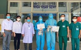 Đà Nẵng: 2 bệnh nhân đầu tiên được Trung tâm Y tế Hòa Vang công bố chữa khỏi COVID-19