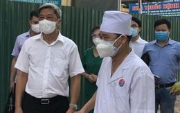 Thứ trưởng Nguyễn Trường Sơn khảo sát 3 bệnh viện tại Bắc Giang để thiết lập đơn vị hồi sức tích cực