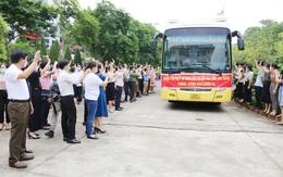 Lào Cai cử Đoàn thầy thuốc ưu tú tới Bắc Giang hỗ trợ chống dịch COVID-19