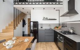 Căn hộ 52m² rộng thoáng bất ngờ nhờ thiết kế tầng lửng tiết kiệm diện tích