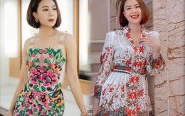 """Học ngay style váy hoa sặc sỡ thần thái đỉnh cao như Hồng Diễm """"Hướng dương ngược nắng"""""""
