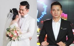 """Tuổi 35 bình yên bên cô dâu giấu mặt của MC Hạnh Phúc - chàng kỹ sư cầm mic trong """"Chuyển động 24h"""""""